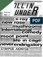 Rollin Under fanzine No 1
