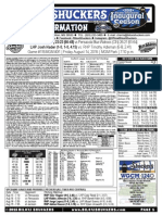 8.14.15 vs PNS Game Notes