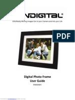 "Pandigital Digital Photo Frame 8"" PI8004W01B"