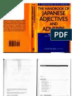 Japanese Adjective and Adverb Handbook