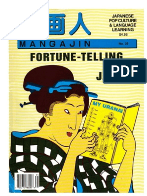 Mangajin35 - Fortune-telling in Japan | Japanese Language on