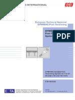 DSI DYWIDAG ETA 06 0022 Bonded Post Tensioning System Using Strands En