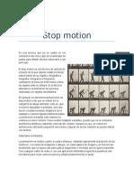 Caracteristicas de Animacion Stop Motion