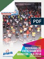 Programa de Entrenamiento MLALA26