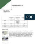 Preparación de Muestra de PCR