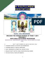 Wish Fulfillment Meditation