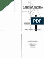 El Sistema Empresa-Pablo Illanes Frontaura