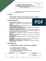PRO-006 Descarga y Despacho Carga Solida Granel