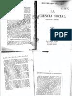 Spencer La Ciencia Social