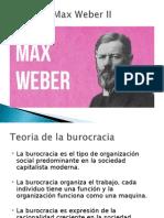 Max Weber II - diapositiva