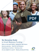 No-Nonsense Guide to small business funding