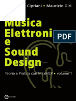 Musica Elettronica e Sound Design a Cipriani M Giri