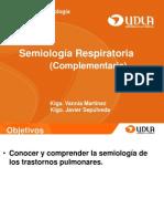 Semiologia Respiratoria Complemetaria FISIOLOGIA UDLA
