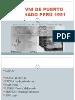 Caso Ovni de Puerto Maldonado Perú 1951