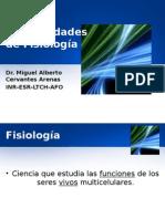 Generalidades de fisiologa