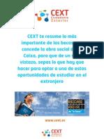 Resumen Cext de las Becas La Caixa