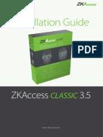 ZKAccess3.5 Manual