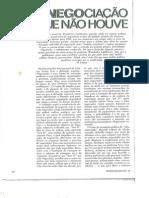 1984 Wanderley Guilherme Dos Santos Sobre a Negociação