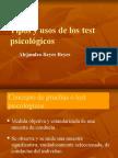 Tipos y Usos de Los Test Psic