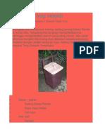 Pembuatan Tong Sampah