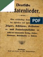 Deutsche Soldaten, Jäger, Schützen und Vaterlandslieder (CA. 1930)