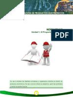 Normativas proyectos electronicos