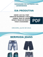 Cadeia Produtiva - Bermuda Jeans