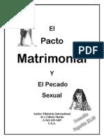 El Pacto Matrimonial Y El Pecado Sexual