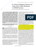 low complexity slm for papr in ofdm systems