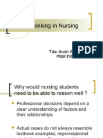 Critical Thinking in Nursing NEW