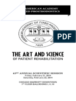 eposter for art & science of patient preparation
