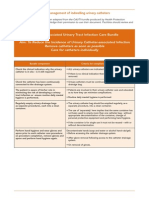 Catheter-Associated Urinary Tract Infection Care Bundle