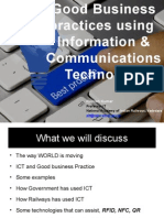 Good Business Practices Using ICT by Rajnish Kumar