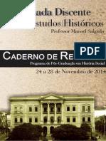 Caderno de Resumos Ix Jornada Discente 2014