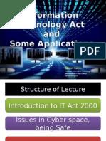 IT Act and Applications - Rajnish Kumar