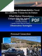 Mauna Kea Info Session_Doug Simons