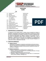 Syllabus de Edafologia - UAP