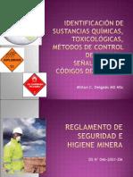 Identificación de Sustancias Químicas, Toxicológicas,