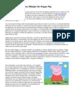 Colorea Y Pinta Estos Dibujos De Peppa Pig.
