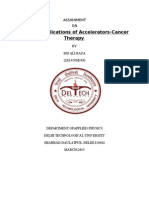 Cancer Therapy Assaignment