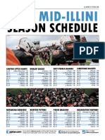 2015 Mid-Illini Conference football schedule