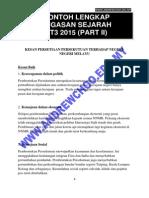 Contoh Jawapan Lengkap Tugasan Sejarah Pt3 2015 – Perjanjian Persekutuan 1895 – Part II