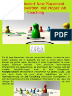 Wie Funktioniert New Placement Möglich Geworden, Mit Proper Job Coaching