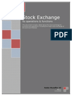 24016453 Stock Exchange Its Functions and Operations