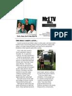 Martin's August Newsletter