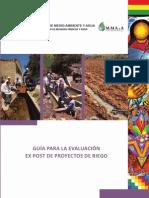 Guia Evaluacion Proyectos Riego Bolivia