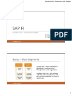 SAP Master Data - Customers and Vendors