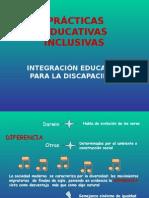 PRACTICAS EDUCATIVAS INCLUSIVAS