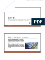 SAP Document Control - Document Structure