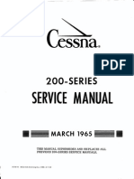 Cessna 200 Service Manual (1965)